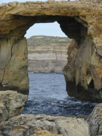 """Blue window"" auf Malta"